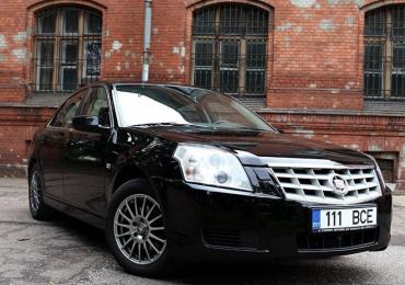Cadillac BLS 2.0 129kW, 2009, 149 000 km · книга обслуживания, бензин. Идеальное стостояние!