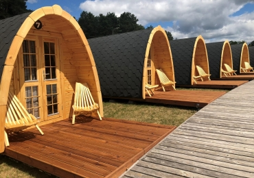Предлагаем готовые модульные строения для отдыха на свежем воздухе – Кемпинг дом и Кемпинг баня.