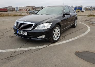 Mercedes-Benz S 350 3.5 200kW, 2007 год, Пробег оригинальный 68 941 km · книга обслуживания