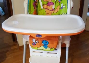Детский стул для кормления Chicco в отличном состоянии, дешево.