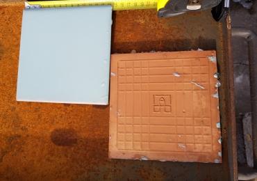 Продам кафельная старинная плитка. Новая 15х15 см. 16 м2