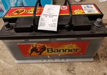 Аккумулятор Banner Power Bull Pro 100Ah 800A хорошее состояние 73% от нового.