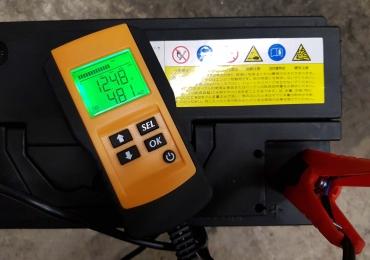 Аккумулятор FULLPOWER 100Ah 850A состояние 62% от нового. 12 вольт.