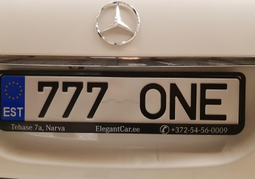 Maserati, Mercedes, Cadillac — люксовые автомобили и эксклюзивные личные номера к ним, продажа в Нарве