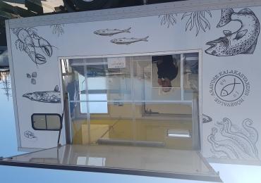 Свежая рыба от рыбака у Призмы