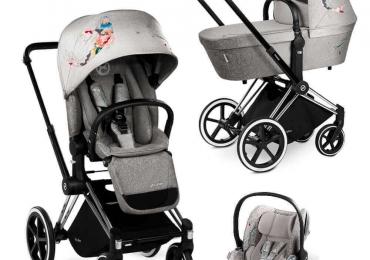 Cybex Priam Koi коляска (люлька,прогулка+автокресло+Isofix)