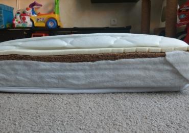 Ортопедический матрас в детскую кроватку 60×120