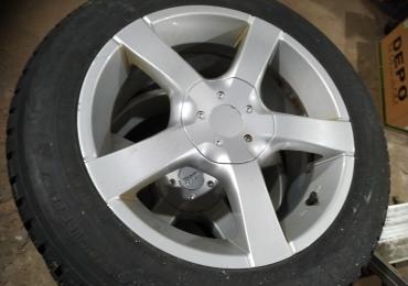 Продам шипованные колёса Wolkswagen
