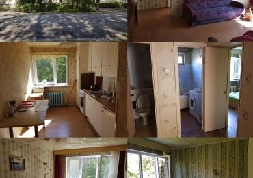 Сдаю 4-х комнатную квартиру 73 м2, 3 эт, в Нарва-Йыэсуу на длительный срок, через договор. От хозяина.