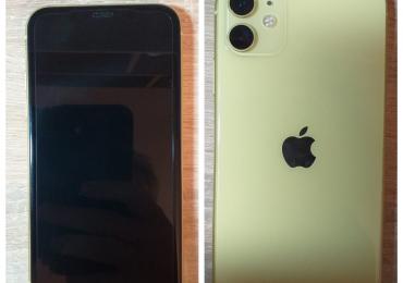 Продам iPhone 11 желтого цвета на 64GB.