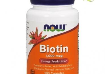 Биотин — здоровый блеск кожи, волос и ногтей