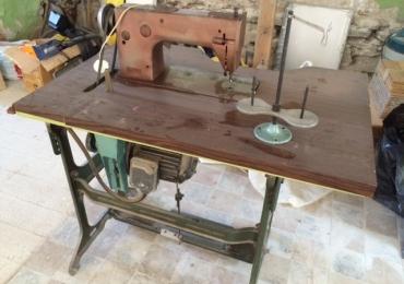 Профессиональная швейная машинка с электродвигателем